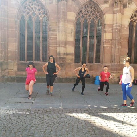 Sporty tour of Strasbourg