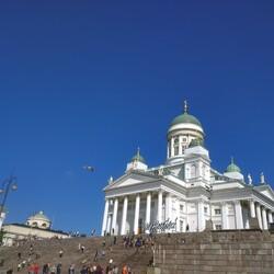 City walk with Finnish music