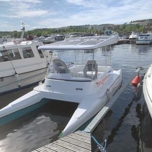 Rent a solar-powered boat, Jyväskylä