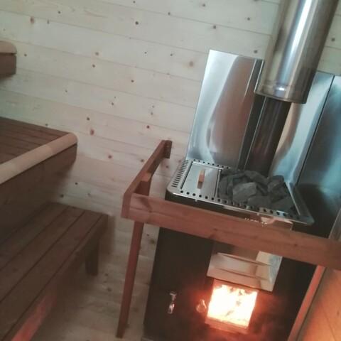 Wood sauna and Riitta's soup