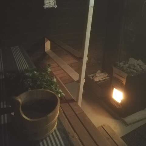 Wildherbs with an indulging peat sauna at Karkausmäen Kammari