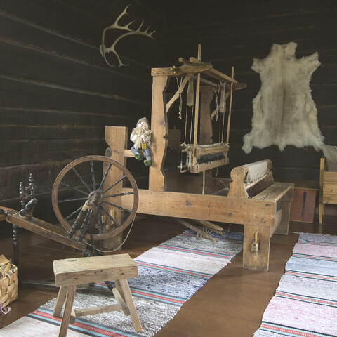Old finnish handicraft methods