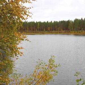Isä-lapsi kalastusretki Rokualle, Utajärvi