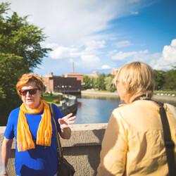 Kävelykierros: Juice ja Tampere