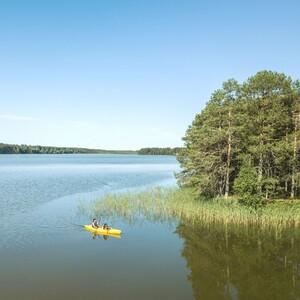 CANOEING TRIP FROM HUSKY HOME TO THE REINDEER FARM, Rovaniemi