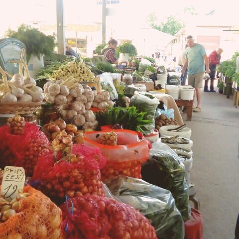 Food Market tour Tallinn
