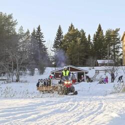 Rekiretki talviseen Raahen saaristoon