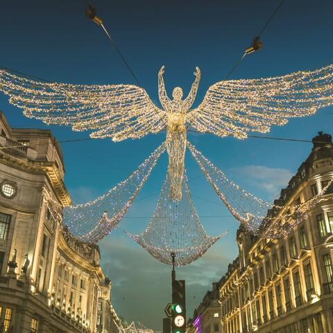 Joulun tunnelmaa Lontoossa * virtuaalimatka * live