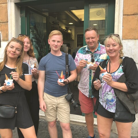 Catacombs and Gianicolo food tour