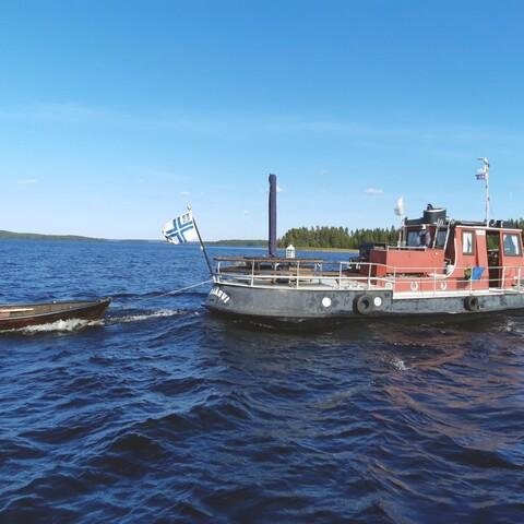 Cruise/tugboat M/S Toimi lake Näsijärvi