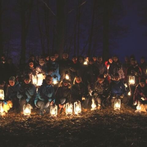 A Lantern Hike through the hidden side of Tallinn.