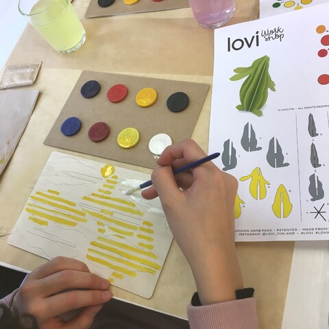 LOVI Workshop at Taito Shop