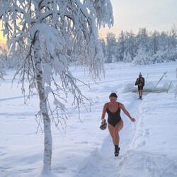 Sauna & Ice swimming