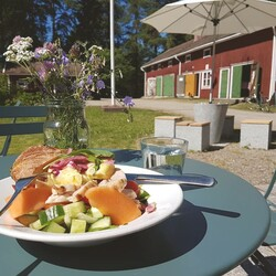 Visual art & Salad at Kuhmo Chamber Music Centre