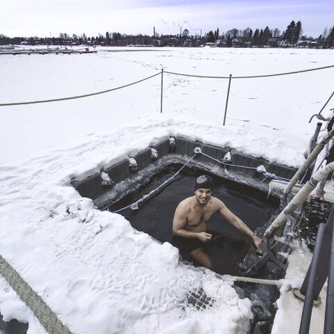 Public sauna experience