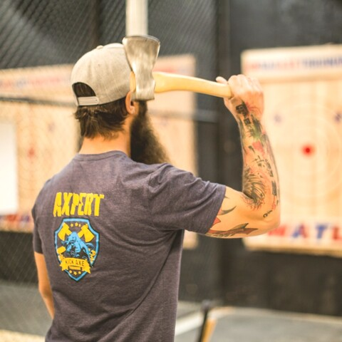 Axe Throwing and Beer